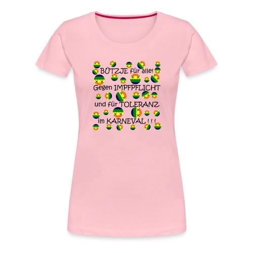 Toleranter Karneval 21.1 - Frauen Premium T-Shirt
