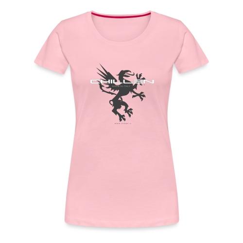 Chillen-1-dark - Women's Premium T-Shirt