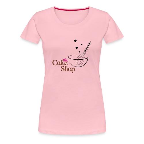 THE CAKE SHOP - Camiseta premium mujer