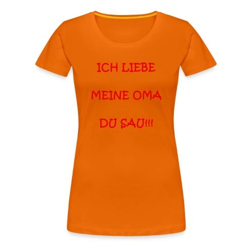 Anti-Omasau - Frauen Premium T-Shirt