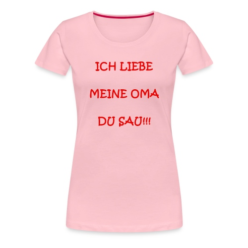 Anti-Omasau - Frauen Premium T-Shirt