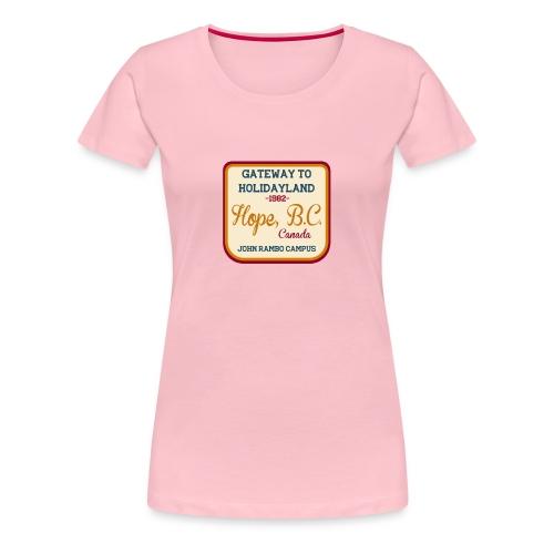 Rambo Hope Holidayland - Koszulka damska Premium
