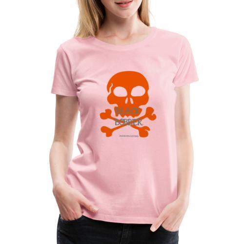 Black Bobber - Chopper Skull Totenkopf -Jackseven - Frauen Premium T-Shirt