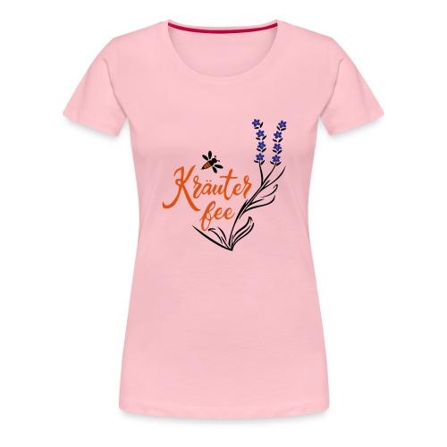 Kräuter Fee, Biene, Umwelt - Frauen Premium T-Shirt