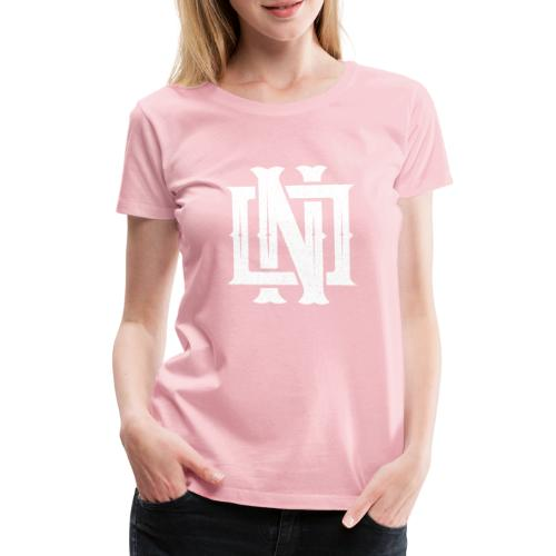Nineone Monogram NO 02 white - Frauen Premium T-Shirt