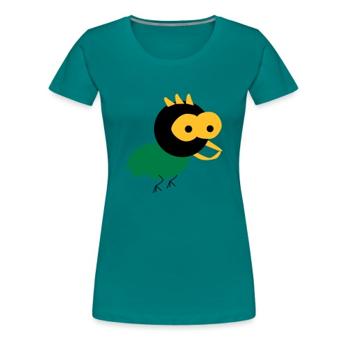 lintu-eps - Naisten premium t-paita