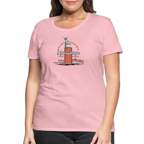 Finnish Lighthouse KYLMÄPIHLAJA Textiles, and Gift - Naisten premium t-paita