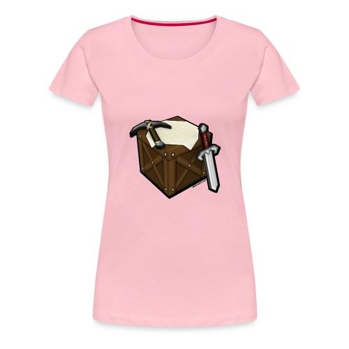 BDcraft Bench - Women's Premium T-Shirt