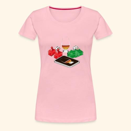 Distillery - Frauen Premium T-Shirt
