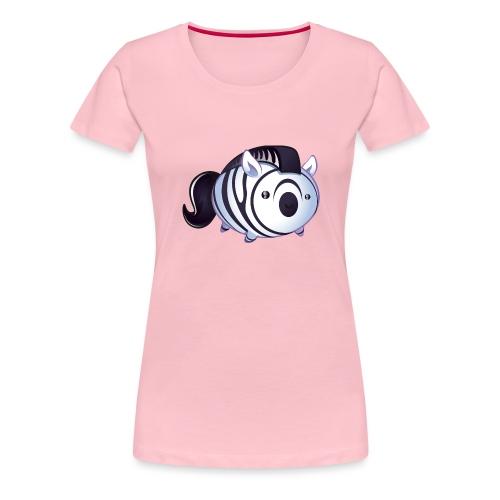 zèbre kawaii - T-shirt Premium Femme