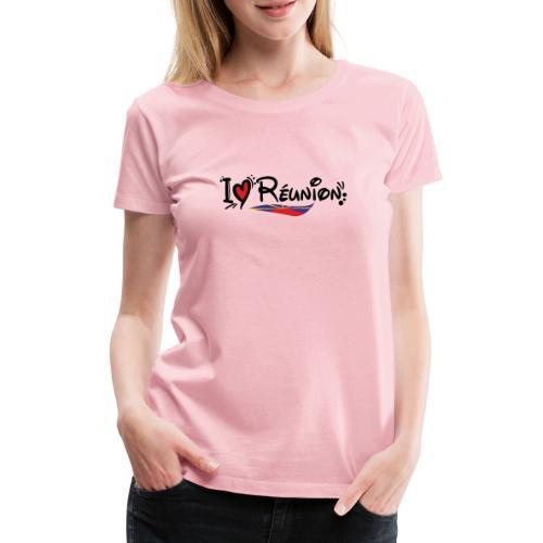 i love Réunion - MAHAVELI - T-shirt Premium Femme