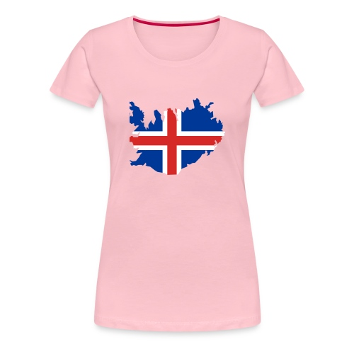 Iceland - Vrouwen Premium T-shirt