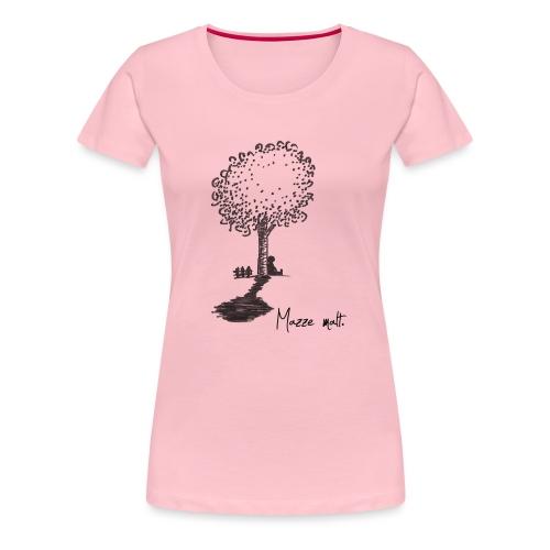 Baum - Mazze malt - Frauen Premium T-Shirt