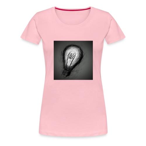 dark bulb - Women's Premium T-Shirt