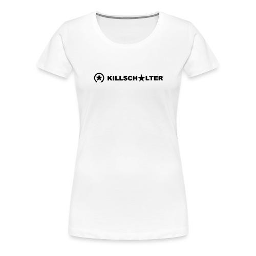 KILLSCHALTER Logo Brand 7KS04 - Women's Premium T-Shirt
