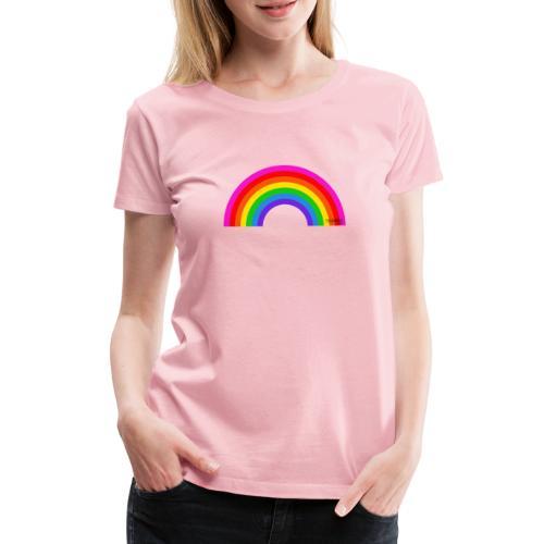 Rainbow - Naisten premium t-paita