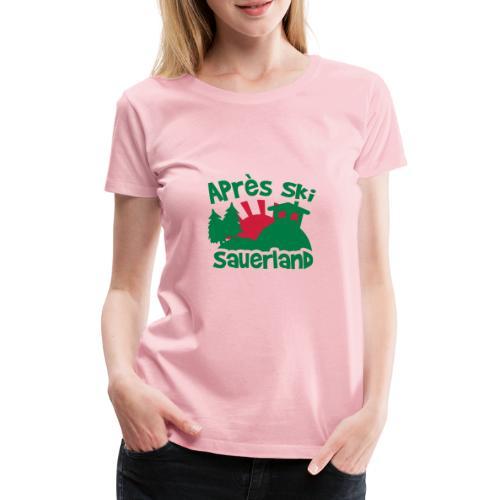 Après Ski - Frauen Premium T-Shirt