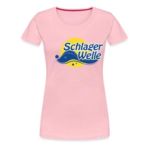 Schlagerwelle Original Logo - Frauen Premium T-Shirt