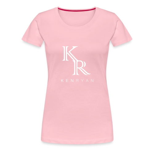 KR KEN RYAN white - Frauen Premium T-Shirt