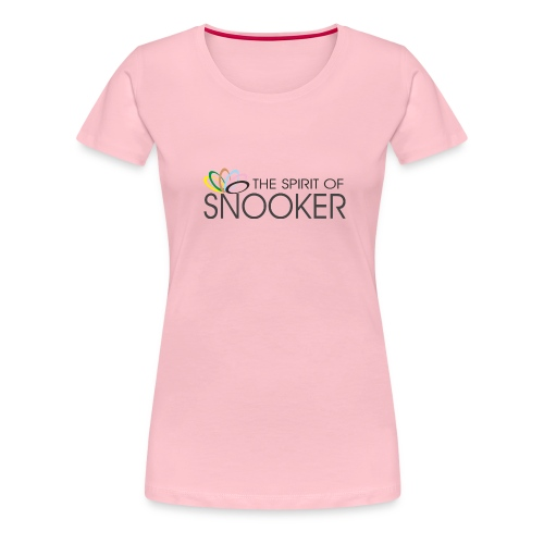 spirit of snooker - Frauen Premium T-Shirt