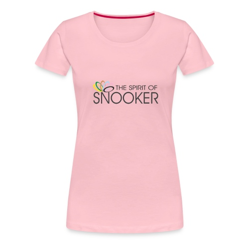 spirit of snooker - Frauen Premium T-Shirt