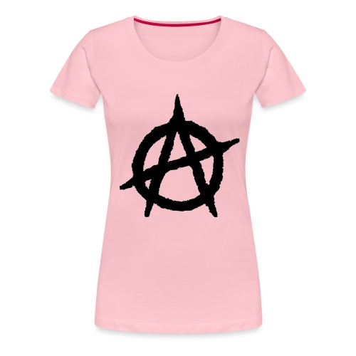 Anarkist Logo - Women's Premium T-Shirt