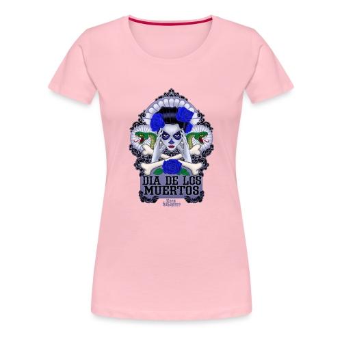 DIA DE LOS MUERTOS - Naisten premium t-paita
