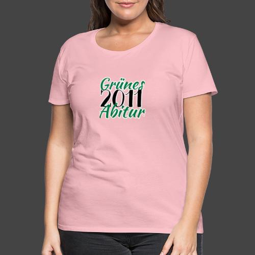 Grünes Abitur 2011 - Waidmannsheil von Jägershirts - Frauen Premium T-Shirt