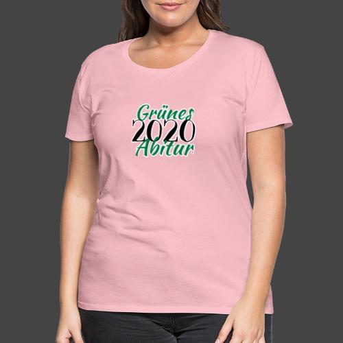 Jägershirt zum Jagdschein - Grünes Abitur 2020 - Frauen Premium T-Shirt