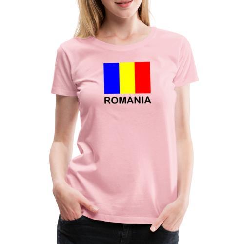 Fahne Romania - Frauen Premium T-Shirt