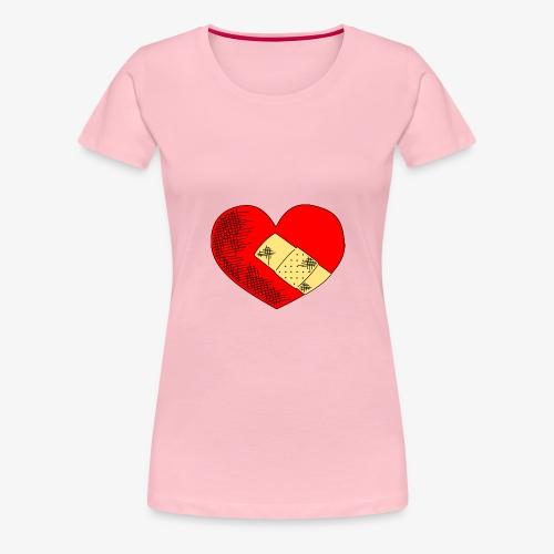 Herzschmerz - Frauen Premium T-Shirt