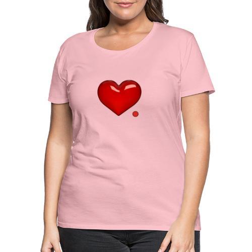 Love. Regalo. Coppia. Amore. - Maglietta Premium da donna