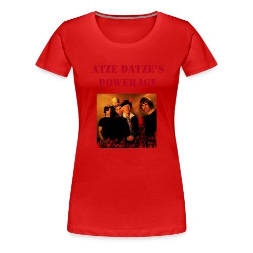 Atze Datze Band - Frauen Premium T-Shirt