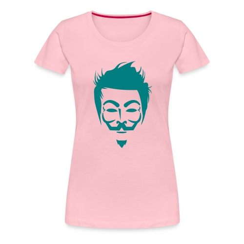 Anonymous Hipster - T-shirt Premium Femme