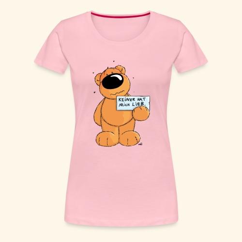 chris bears Keiner hat mich lieb - Frauen Premium T-Shirt