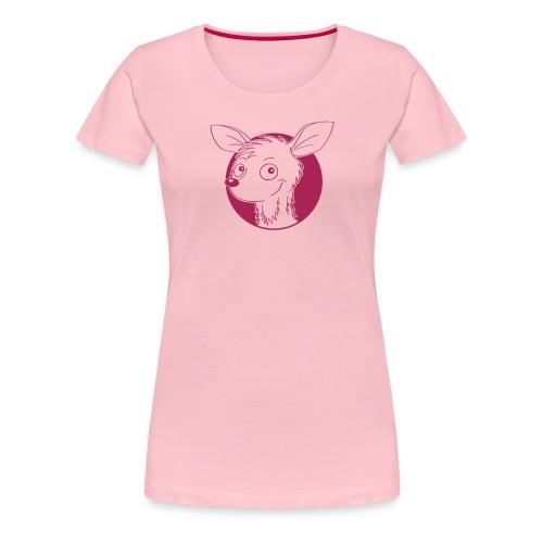raffiniertes Reh - Frauen Premium T-Shirt