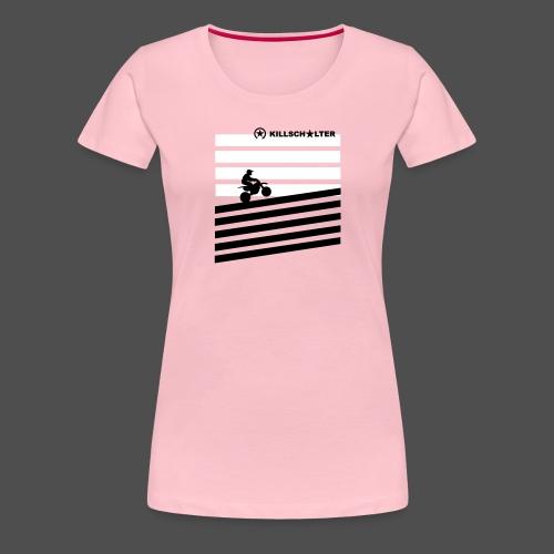 DIRT BIKE RIDER 0DR01 - Women's Premium T-Shirt