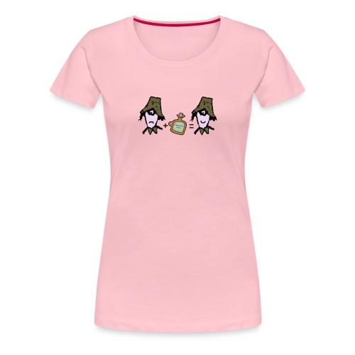 Zider = Appy cap - Women's Premium T-Shirt