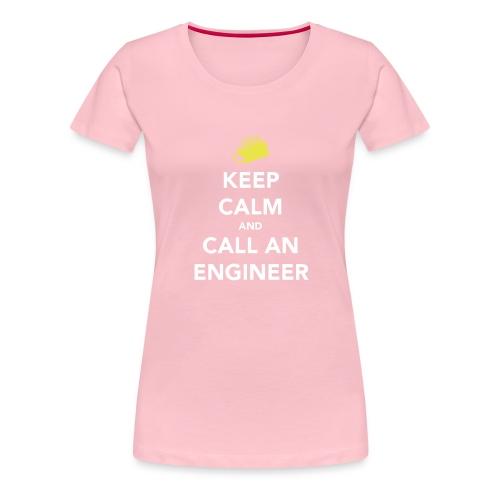 Keep Calm Engineer - Women's Premium T-Shirt