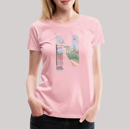 Immer wieder Neuss - Frauen Premium T-Shirt