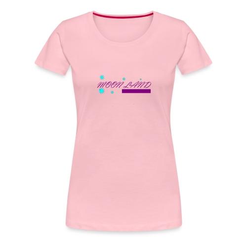 Moon land - Camiseta premium mujer