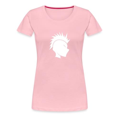 Cally Mohawk Logo - Women's Premium T-Shirt