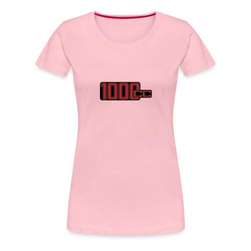 1000ccm Hubraum - Frauen Premium T-Shirt
