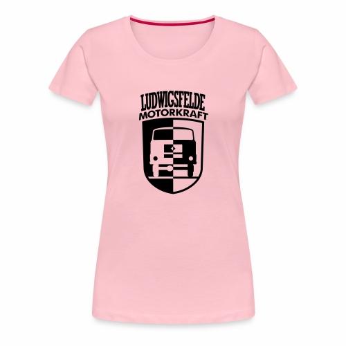 IFA Ludwigsfelde Motorkraft coat of arms - Women's Premium T-Shirt