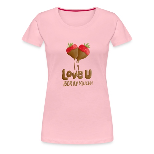 Love U berry much - Premium-T-shirt dam