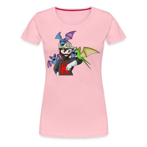 AJ and Zubat - Women's Premium T-Shirt
