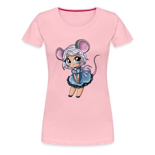 Petite Souris - T-shirt Premium Femme