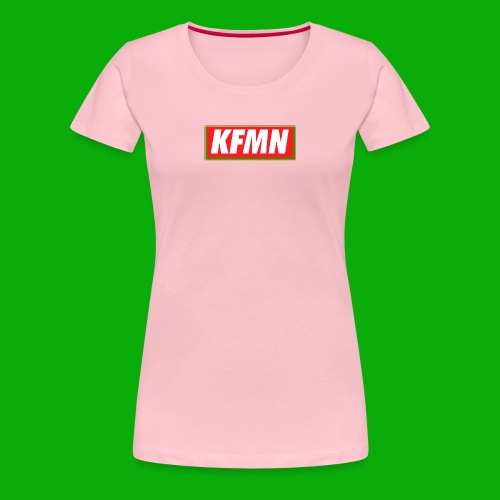 -KFMN- Boxed Design - Frauen Premium T-Shirt