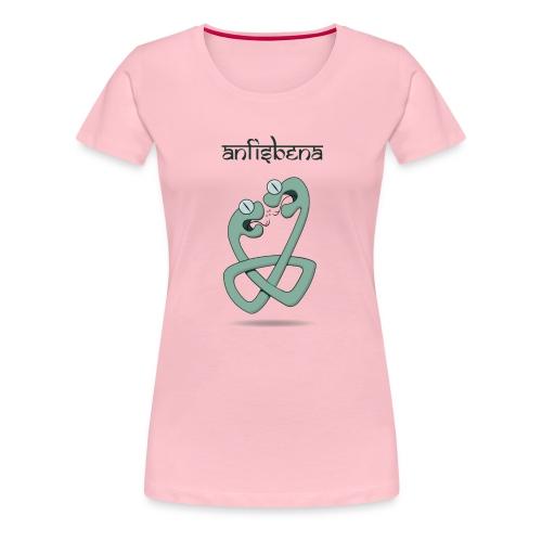 ANFISBENA - Camiseta premium mujer