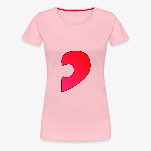 Herz Puzzle Partnerlook B - Frauen Premium T-Shirt